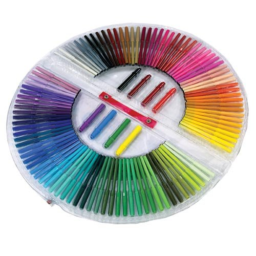 Cheap Washable Marker: 100 Fine Tip Washable Rainbow Markers - 50