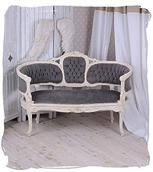 Vintage Sofa Marie Antoinette Couch Sitzbank Shabby Chic Barocksofa