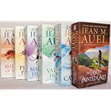The Complete Jean M. Auel Earth's Children Series Six Book Set [Clan of the Cave Bear, Valley of the Horses, Mammoth Hunters, Plains of Passage, Shelters of Stone, and Land of Painted Caves]