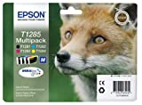 Epson T1285 Fuchs, wisch- und wasserfeste Tinte (Multipack,...