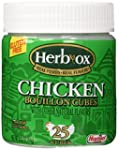 Herb-Ox Bouillon Cubes Chicken Bouill...