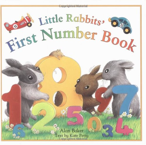 Little Rabbits' First Number Book (Little Rabbit Books)