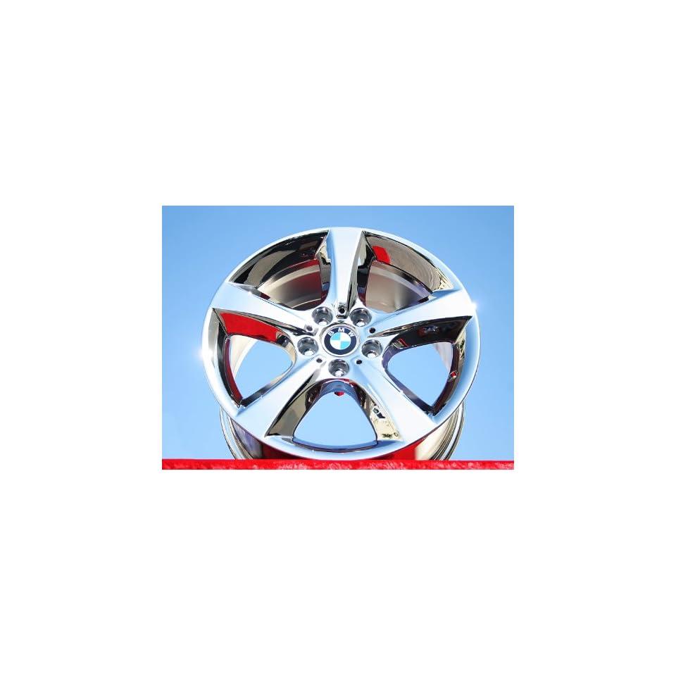 BMW X5Style 210 Set of 4 genuine factory 18inch chrome wheels