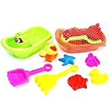 5 pcs Children Baby Boys Girls Bath Beach Sand Water Toys Large-sized Hourglass Set