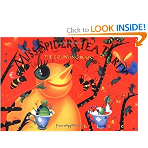 Miss Spiders Tea Party The Counting Book - 1997 publication. David Kirk