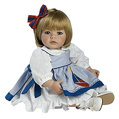 "Adora Pin-a-four Seasons 20"" Play Doll Sandy Blonde Hair/Blue Eyes"