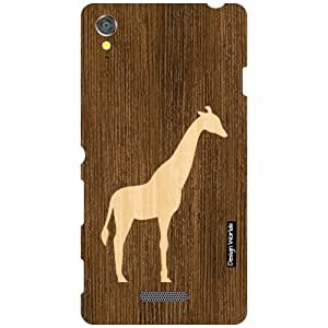 Design Worlds Sony Xperia T3 D5102 Back Cover - Wood Designer Case and Covers