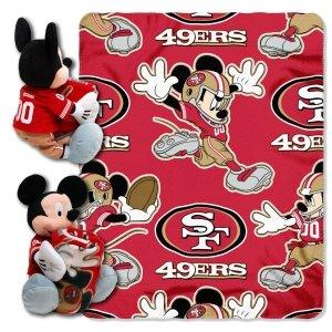 49ers Blanket Fleece front-1046424