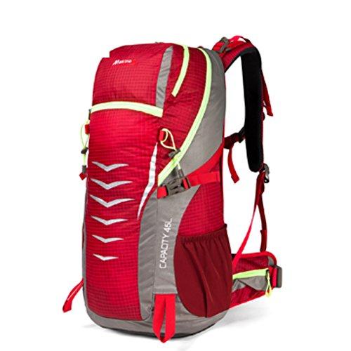 escalade extérieur sac / sac à dos / épaule multifonctions-rouge 45L