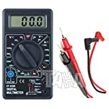 Taha® DT830B LCD Digital Voltmeter Ammeter Ohm Multimeter with Test Leads Brand change to:TAHA®