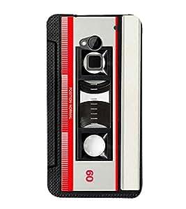 Cassette Player 3D Hard Polycarbonate Designer Back Case Cover for HTC One Max