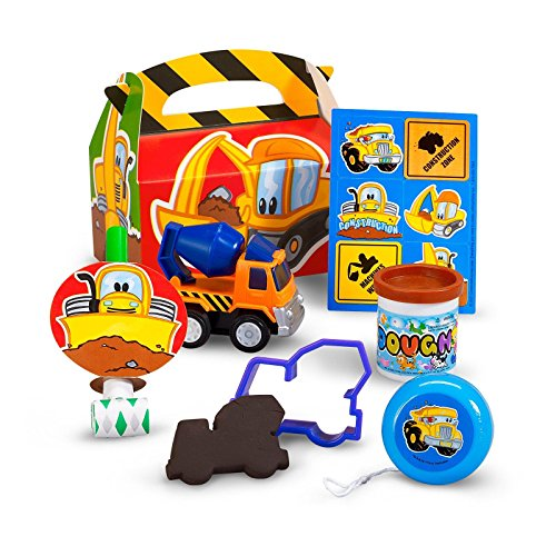 Construction Pals Filled Party Favor Box