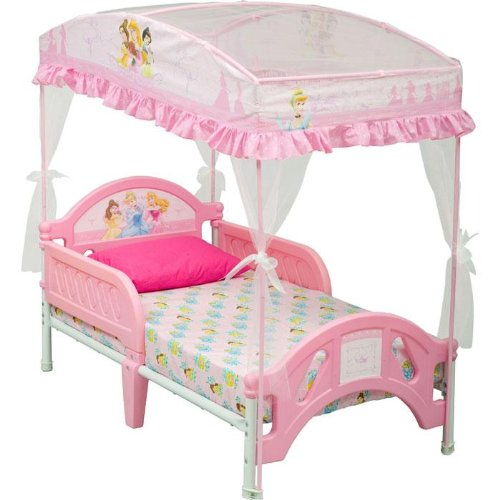 Canopy Beds For Girls Delta Disney Princess Toddler Bed