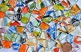 Glasmosaiksteine softglas unregelmäßig mit Muster bunt