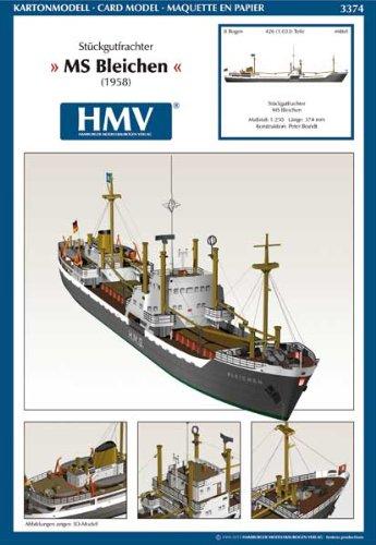 HMV-3374-Kartonmodell-Stckgutfrachter-MS-Bleichen