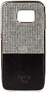 Purple Eyes Stone studded Diamond hard back Case for Samsung Galaxy S6 Plus Black