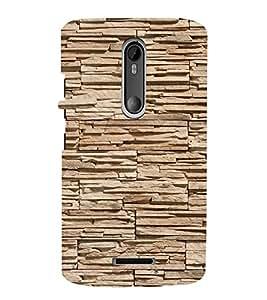 EPICCASE Pebble brick wall Mobile Back Case Cover For Moto X 3rd Gen (Designer Case)