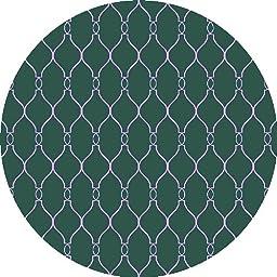 Surya Fallon Turquoise-Ivory 8\' Transitional Area Rug