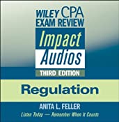 Wiley CPA Examination Review Impact Audios, Second Edition: Regulation | [Philip Yaeger]