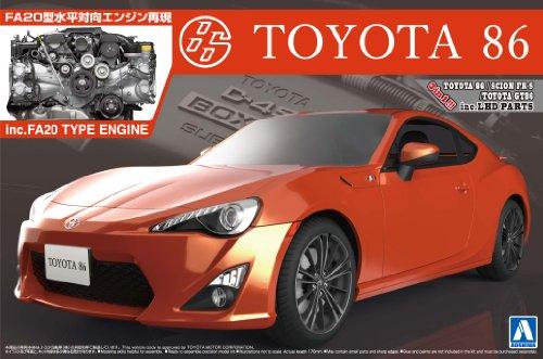 1/24 ザ・ベストカーGTシリーズNo.103 TOYOTA 86 '12 エンジン付