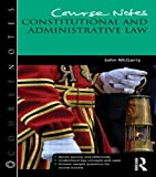 img - for Course Notes: Constitutional and Administrative Law book / textbook / text book