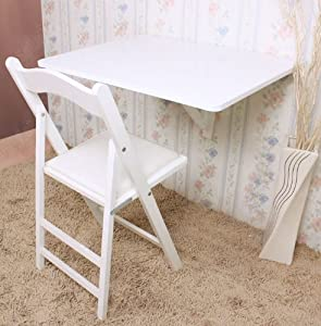 Sobuy wall mounted drop leaf table folding for Table retractable murale