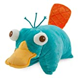 Disney Theme Park Authentic - Disney Park Phineas and Ferb Perry the Platypus Pillow Pal Plush Pet Doll NEW