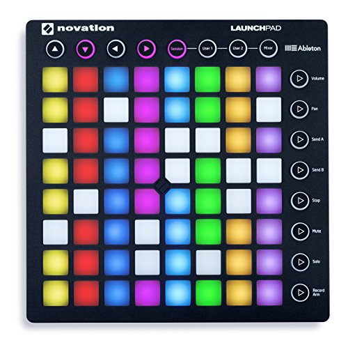 Learn More About Novation Launchpad Ableton Live Controller with 64 RGB Backlit Pads (8x8 Grid)