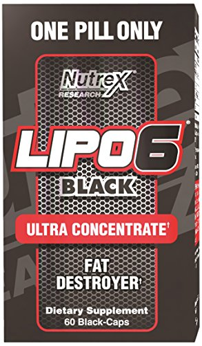 853237000714 - Nutrex Research Lipo 6 Black Ultra Concentrate Diet Supplement Capsules, 60 Count carousel main 0
