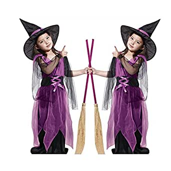 Kiss U Children Cute Witch Dress Cosplay Costumes