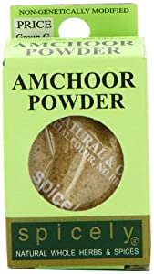 Spicely Organic Amchoor Powder - Compact