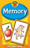 Memory Card Game: 54 Flash Cards (Brighter Child Flash Cards)