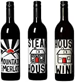 House Wine Grill Favorite Reds Mixed Pack, 3 x 750mL
