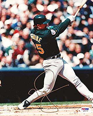 Mark McGwire Oakland Athletics Autographed PSA/DNA Authenticated 8x10 Photo Athletics - Signed Photos