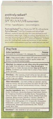 Imagen de Aveeno Skin Positivamente Radiante Daily Moisturizer, SPF 15, 4 onzas