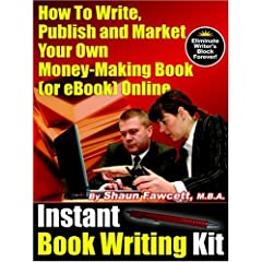 Instant Book Writing Kit