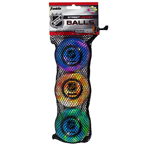 franklin-sports-nhl-extreme-color-high-density-street-hockey-ball-assorted-colors-3-pack