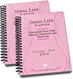 2014 Ideal Life Planner 12 month (two Books) (Light Pink)