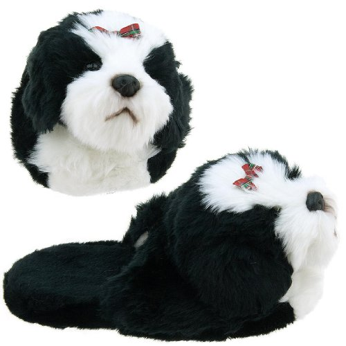 Image of Shih-Tzu Dog Animal Slippers for Women (B0037TO71Y)