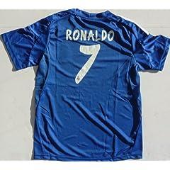 Buy 2013 2014 REAL MADRID AWAY RONALDO 7 FOOTBALL SOCCER KIDS JERSEY by RMCF