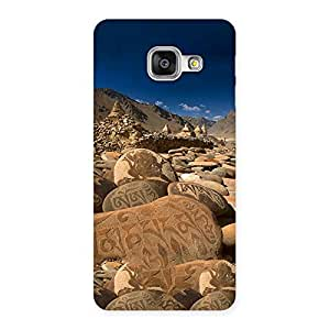 Special Roads Stone Print Back Case Cover for Galaxy A3 2016