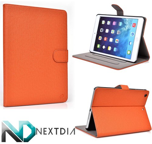 Click to buy Apple iPad Air with WiFi A1474 16GB- Case and Stand ( Burnt Orange ) Plus Plug-in Stylus from NextDia - From only $9.98