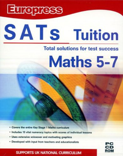 SATS Tuition Maths Age 5-7 (DVD Case)