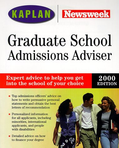 newsweek-graduate-school-admissions-adviser-2000-selection-admissions-financial-aid