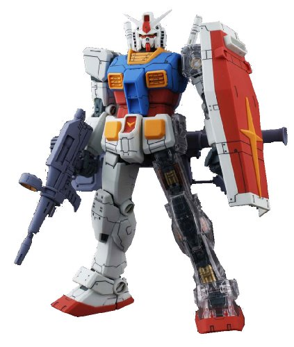 Gundam RX-78-2 Gundam Ver O.Y.W. Animation Color with Extra Clear Body parts MG 1/100 Scale
