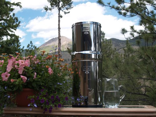 Crown Berkey W/ 4 Black Berkey Elements