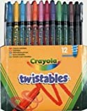 Crayola 12 Pack Twistables Multi