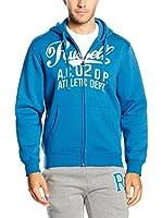 Russell Athletic Sudadera con Cierre (Azul)