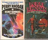 img - for Perry Rhodan Two Pack (#16: Secret Barrier X, #108: Duel Under the Double Sun, (shorts also include Pursuit to Mars and Swordsmen of Varnis, and The Ship of Things to Come, Shock Short I & II, and The Time Vault I & II)) book / textbook / text book