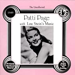 Patti Page with Lou Stein's Music, 1949